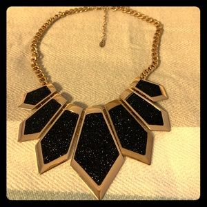 Black and gold Aldo Necklace worn once